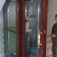 量尺定制小井道家用别墅电梯价格 液压驱动 小型电梯家用 平开门电梯