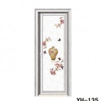 【直销**铝合金门玻璃卫浴门 生间门 包边平开门