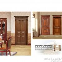 简约现代实木门 手动平开门 隔音卧室门 家装建材喷漆卧室整套门