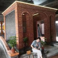 佛山古红阶砖 复古红砖 中式古典 专业古建材料 吸水砖
