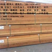 天湾木业供应新疆炭化木厂家 特销炭化木价格 炭化木地板 葡萄架 凉亭
