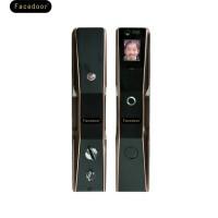 Face doorFD-05 全自动人脸识别指纹密码外用智能防盗门锁