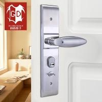 固盾原子直销防盗门不锈钢执手锁别墅门锁木门室经典爆款锁具